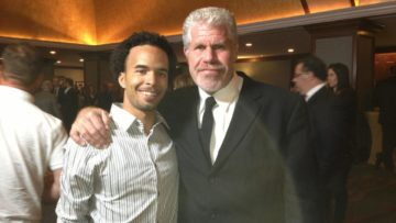 Jon Berrien Interviews Ron Perlman