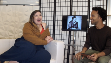 Grammy-Nominated Mary Lambert chats with Jon at the GS Studio